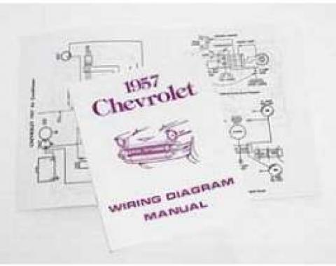 Chevy Wiring Harness Diagram Manual, 1957