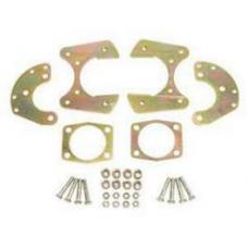 Chevy Rear Disc Brake Bracket Kit, For 9 Ford, With 1, 2 T-Bolts, 1955-1957