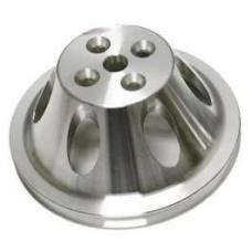 Chevy Short Water Pump Pulley, Single Groove, Small Block, 1955-1957
