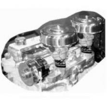 Chevy Air Cleaner, Stainless Steel, 6-Cylinder, For Rochester Carburetor, 9, 1955-1957