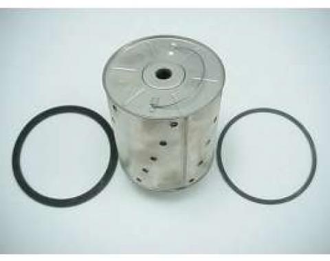 Chevy Oil Filter Element, 6-Cylinder, 1955-1957 & V8, 1955