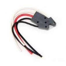 Chevy Power Window Switch Pigtail, Dual-Button, 1955-1957