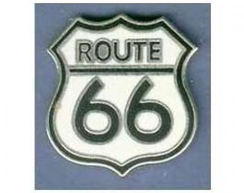 Hat/Lapel Pin, Route 66