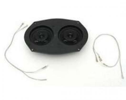 Chevy Stereo Speaker, 80 Watt, Custom Autosound, 1955-1957