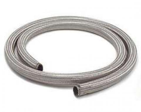 Chevy Heater Hose, Sleeved, Stainless Steel, 5/8 x 6'