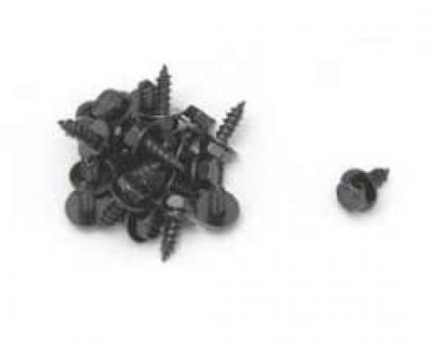 Chevy Front End Sheet Metal Screws, Black Oxide, 1, 4, 1955-1957