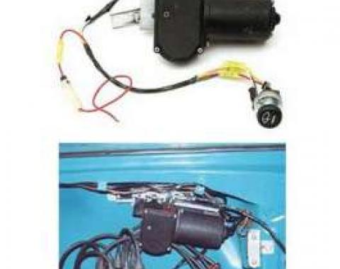 Chevy Electric Wiper Motor, Replacement, 1955-1956
