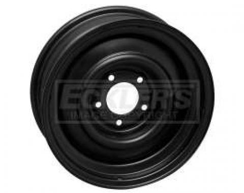 Chevy Steel Wheel, Original, 15x 5, 1955-1956