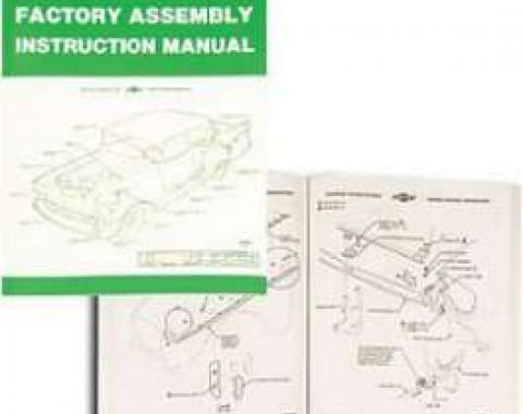 Chevy Passenger Assembly Manual, 1957