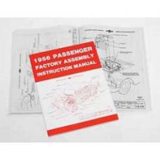 Chevy Passenger Assembly Manual, 1956
