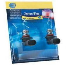 Chevy Headlight Bulbs, Halogen, H4, Xenon Blue, Hella, 60, 55W, 1955-1957