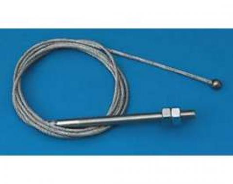 Chevy Front Emergency, Parking Brake Cable, 1955-1957