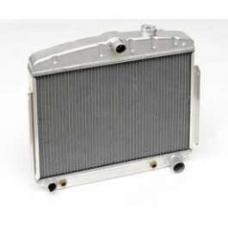 Chevy Aluminum Radiator, 6-Cylinder Position, 1955-1956