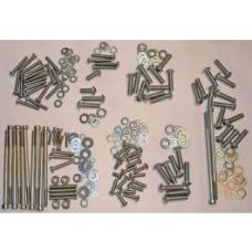 Chevy Engine Bolt Kit, Stainless Steel, LS1, LS2, LS3, LS6(99-Up), 1955-1957