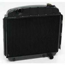 Chevy Radiator, Copper Core, 6-Cylinder, For Cars With Automatic Transmission, U.S. Radiator, 1957