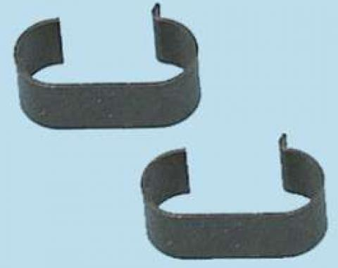 Chevy Transmission Oil Cooler Line Clips, 1955-1957