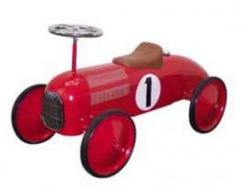 Ride-On Car, Racer, Red