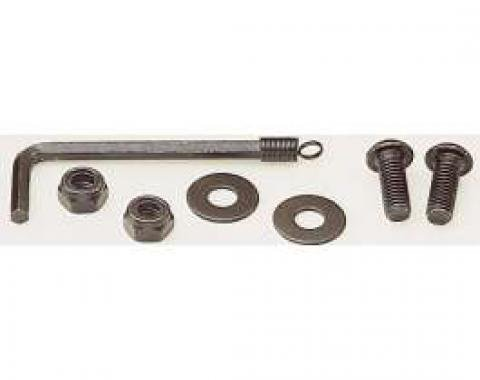 License Plate Fastener Kit, Black