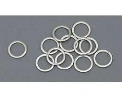 Chevy Intake Manifold Washers, Stainless Steel, Small Block, 1955-1957