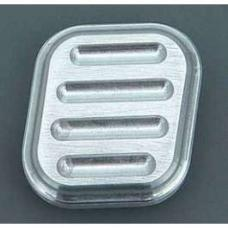 Chevy Dimmer Switch Cover, Without Rubber Inserts, Lokar, 1955-1957