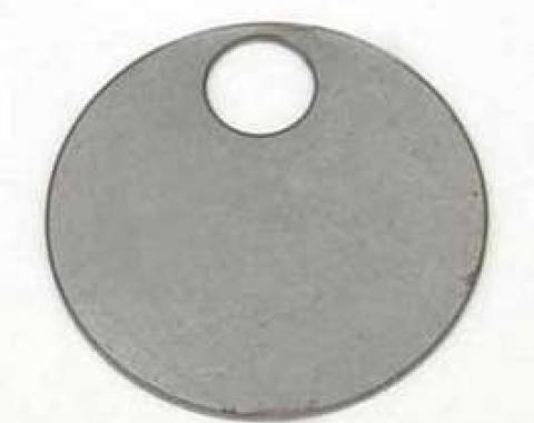 Chevy Rear Axle Identification Tag, 1955-1957