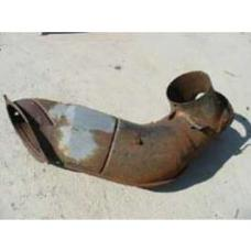 Chevy Air Duct, Right, Rear, Used, 1957