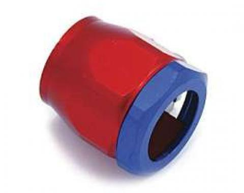Chevy Heater Hose Fitting, Red, Blue, 5/8