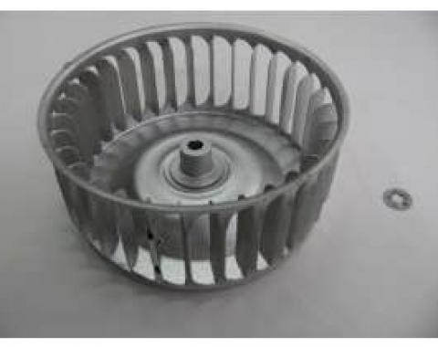 Chevy Fan Cage, Heater Blower Motor, Used, 1955-1956