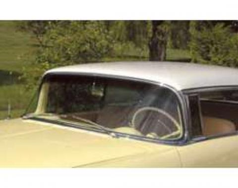 Chevy Windshield, Date Coded, Tinted, Hardtop Or Convertible, Nomad, 1955-1956
