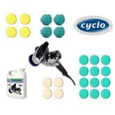 Paint Protection Kit, With Polisher, Complete, Cyclo