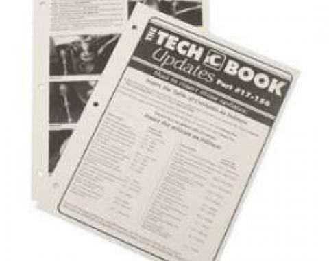Chevy Tech Book Updates, 2000