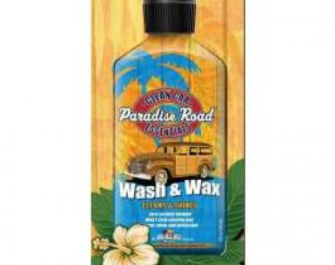 Paradise Road Wash & Wax 4oz Travel Size