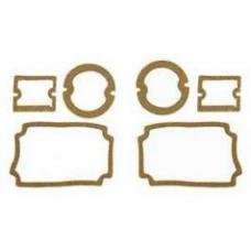 Chevy Parking Light, Taillight & Back-Up Light Lens Gasket Set, 1956
