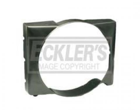 Chevy Fan Shroud, Plastic, 6-Cylinder Position, 1955-1957