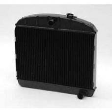 Chevy Radiator, Copper Core, 6-Cylinder, For Cars With Manual Transmission, U.S. Radiator, 1955-1956