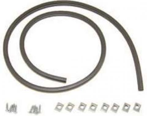 Chevy Seal Kit, Hood To Cowl, Includes Clips, 1949-1952