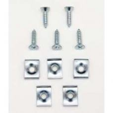 Chevy Hood To Cowl Seal Clip & Screw Set, 1949-1954