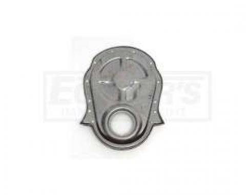 Early Chevy Timing Chain Cover, Big Block, Unplated Steel, 1949-1954