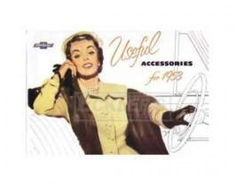 Chevrolet Accessories Manual, 1953