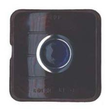 Chevy Glass Taillight Lens, With Glass Blue Dot, 1951-1952