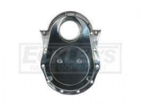 1949-1954 Early Chevy Timing Chain Cover, Big Block, Polished Aluminum