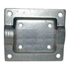 Chevy Mounting Bracket, Beehive Oil Filter, For Stock Intake Manifold, 1949-1954