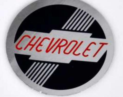 Chevy Heater Box Decal, 1951-1952