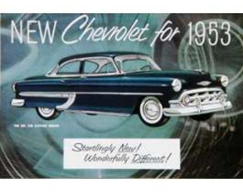 Chevy Owner's Manual, Passenger Car, 1953