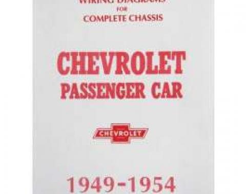 Chevy Wiring Diagram Manual, Passenger Car, 1949-1954