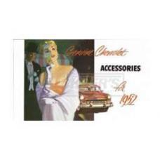 Chevrolet Accessories Manual, 1952