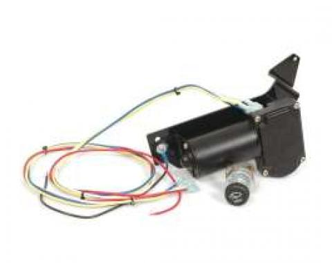 Chevy Electric Wiper Motor, Replacement, 12-Volt, 1953-1954