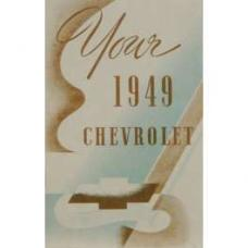 Chevy Owner's Manual, Passenger Car, 1949