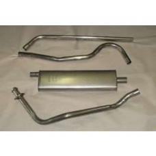 Chevy Exhaust System, Aluminized, Original, 1949-1954