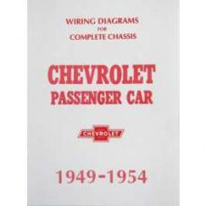 Chevy Wiring Diagram Manual, Passenger Car, 1949-1954